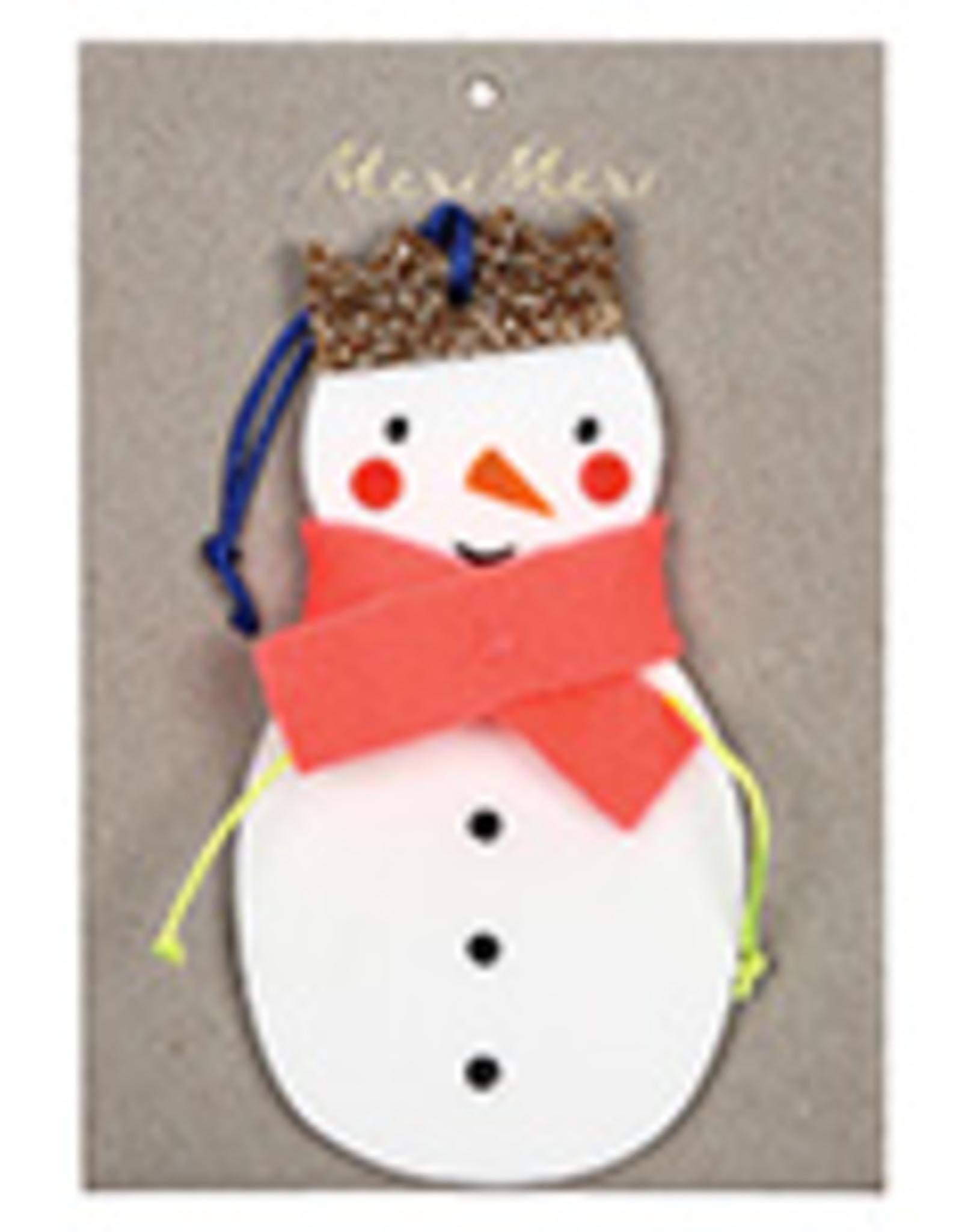 Meri Meri Meri Meri Snowman Decoration
