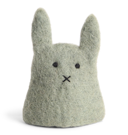 EGS Felted Egg Cosy Bunny-Green