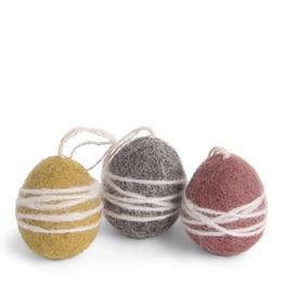 EGS Felted Eggs-Set 3