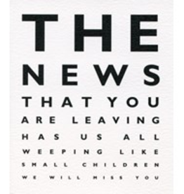 Paper E Clips The News That You Are Leaving