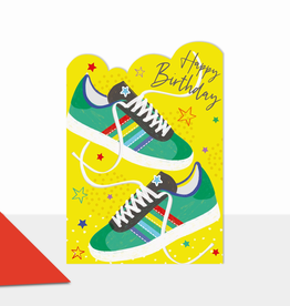 Paper E Clips Trainers Card