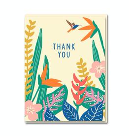 Paper E Clips Tropical Plants Thank You