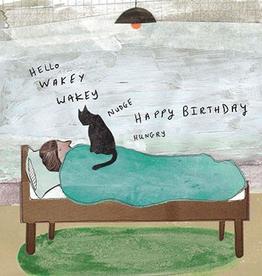 Paper E Clips Wakey Wakey Card-CC1205