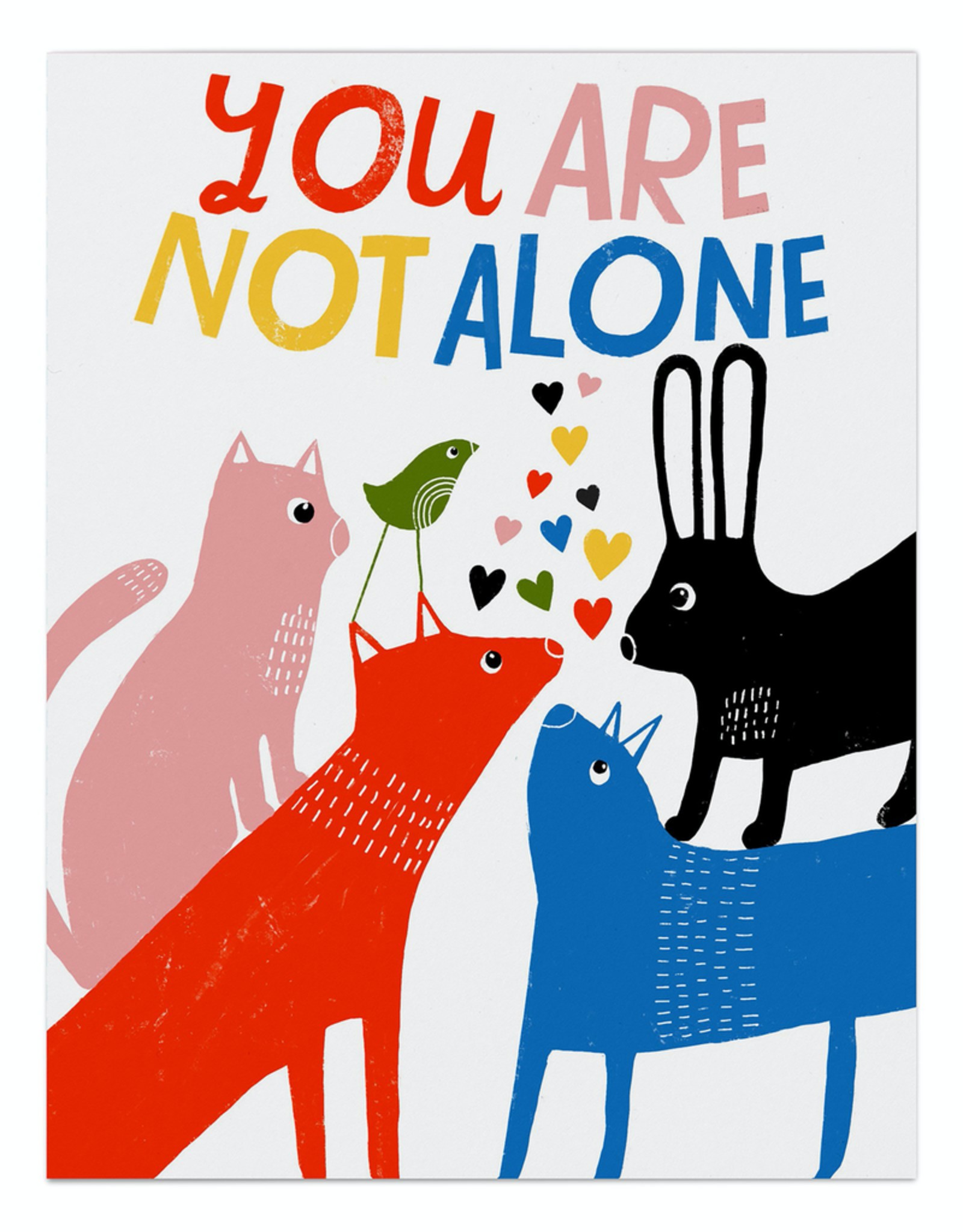 Paper E Clips Paper E Clips You Are Not Alone Card-EM2641