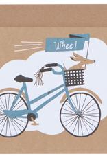 Danica Danica Bicicletta Greeting Card