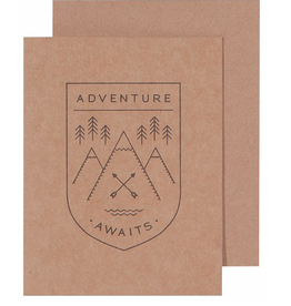 Danica Adventure Awaits Greeting Card