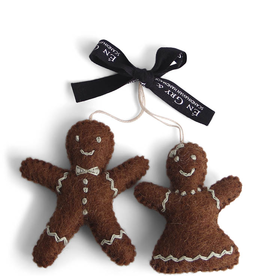 EGS Felted Gingerbread People Ornaments
