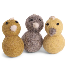 EGS Felted Mini Chickens-Set 3