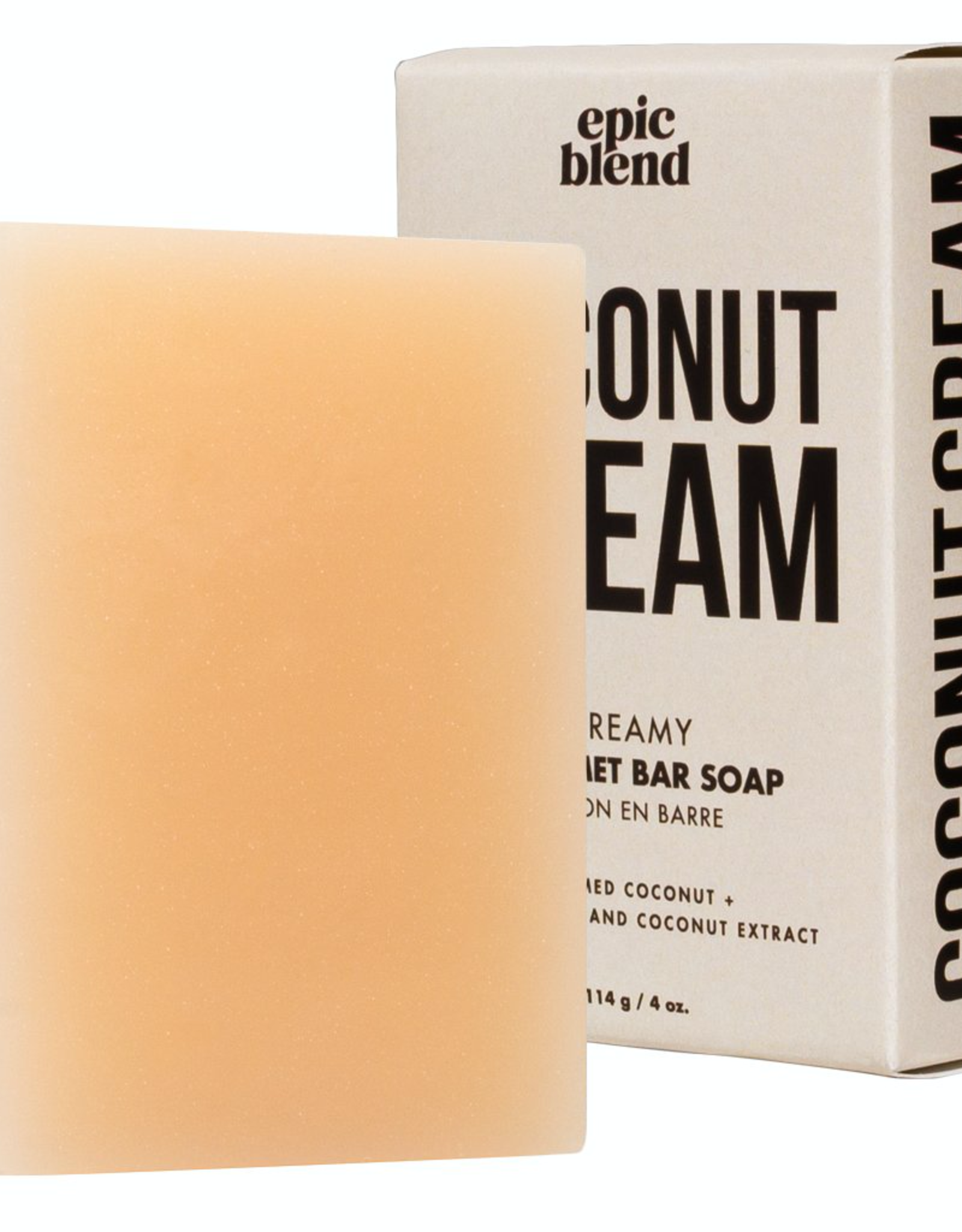 Epic Blend Bar Soap-Coconut Cream