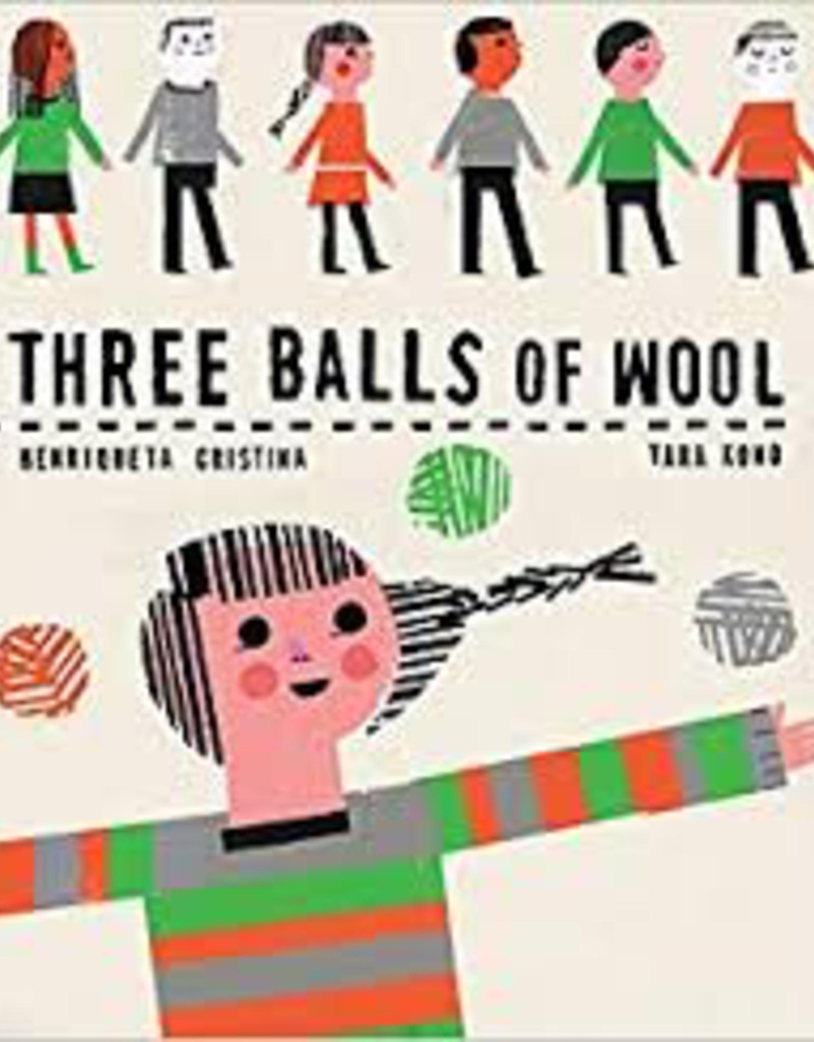 Raincoast Books Raincoast Books Three Balls Of Wool