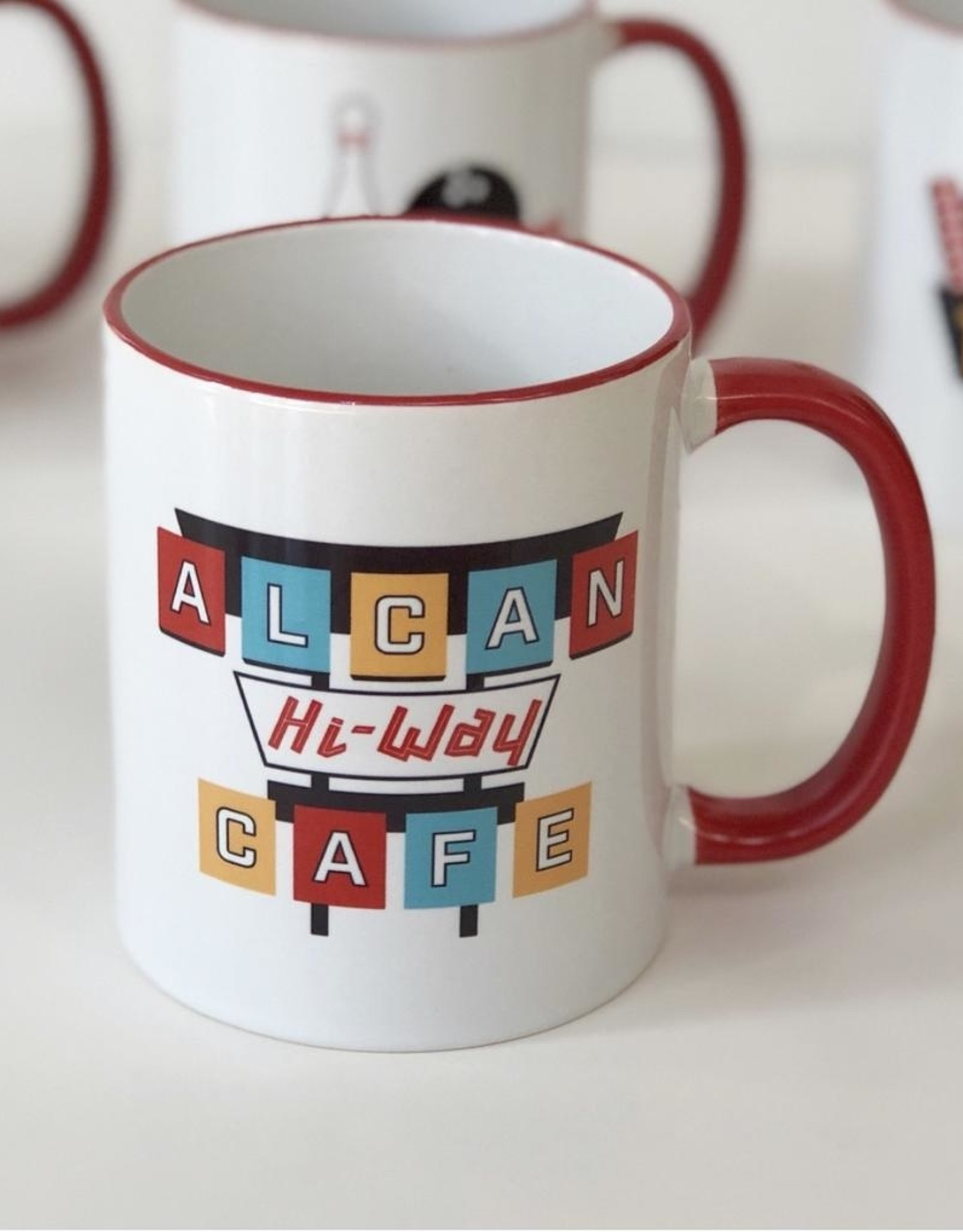 The Collective Good The Collective Good Alcan Cafe Ceramic Mug