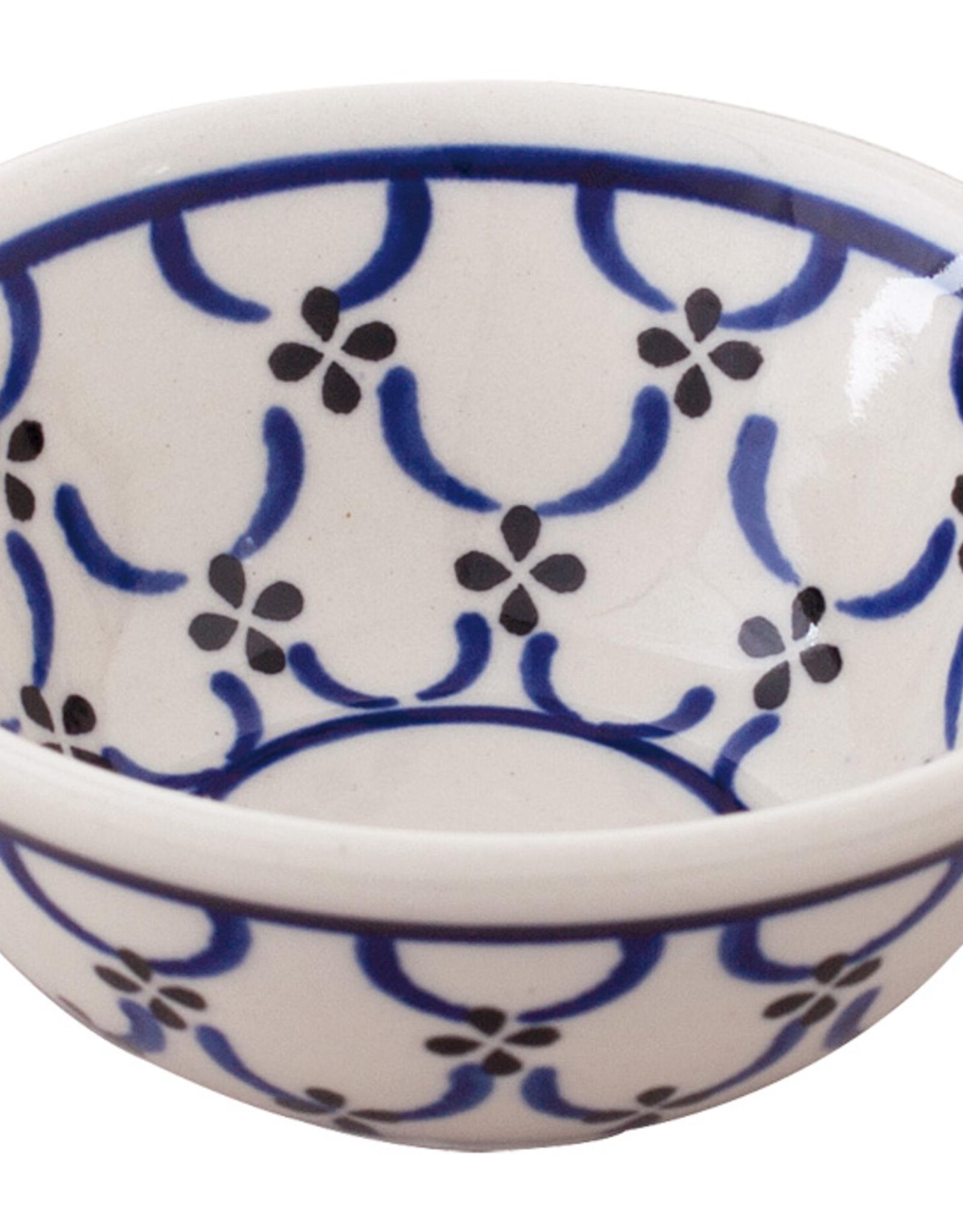 Redecker Redecker Ceramic Shaving Soap Bowl-Light Pattern