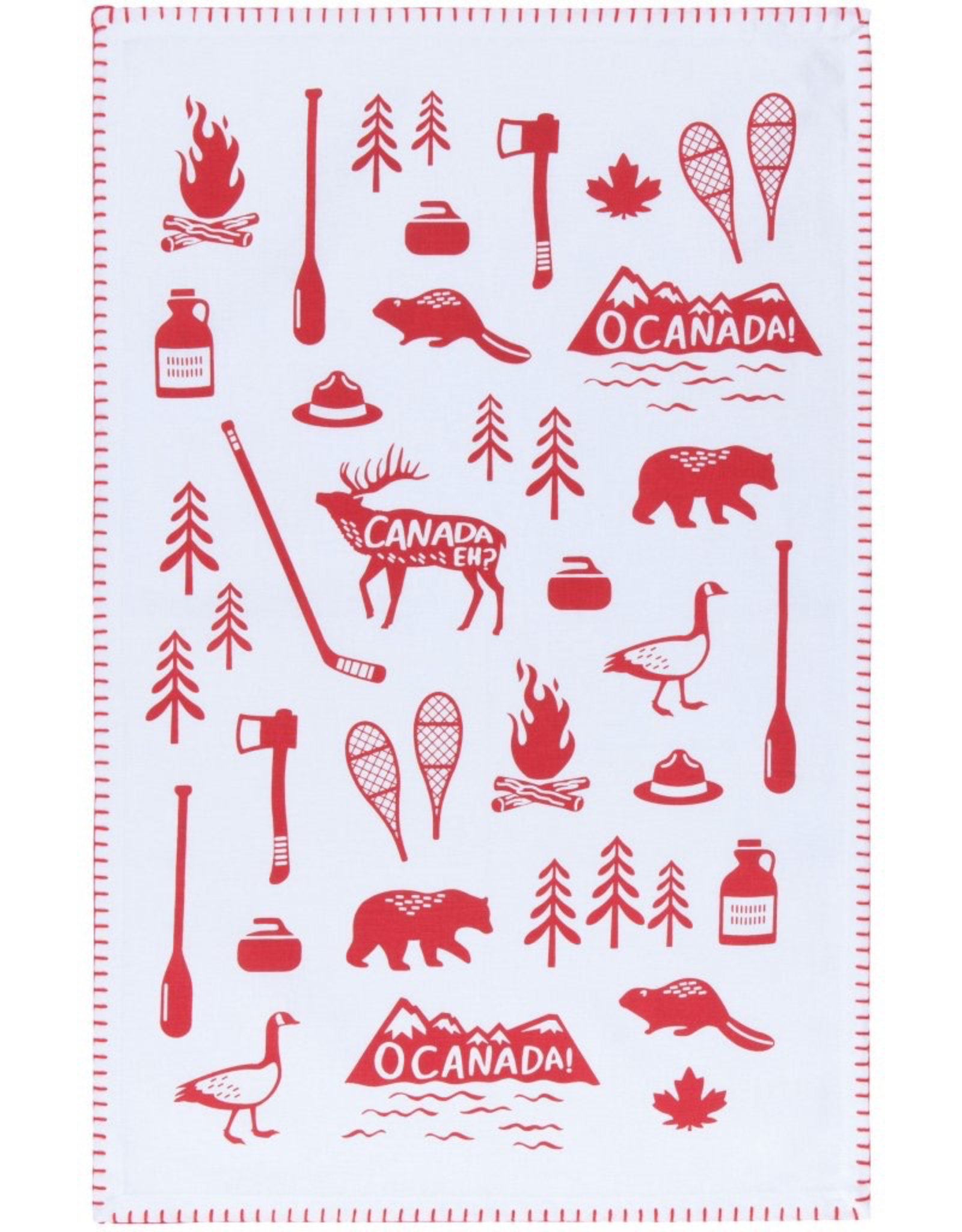 Danica Danica O Canada Tea Towel