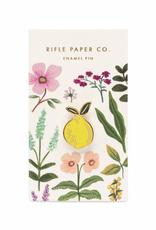 Rifle Paper Rifle Paper Lemon Enamel Pin