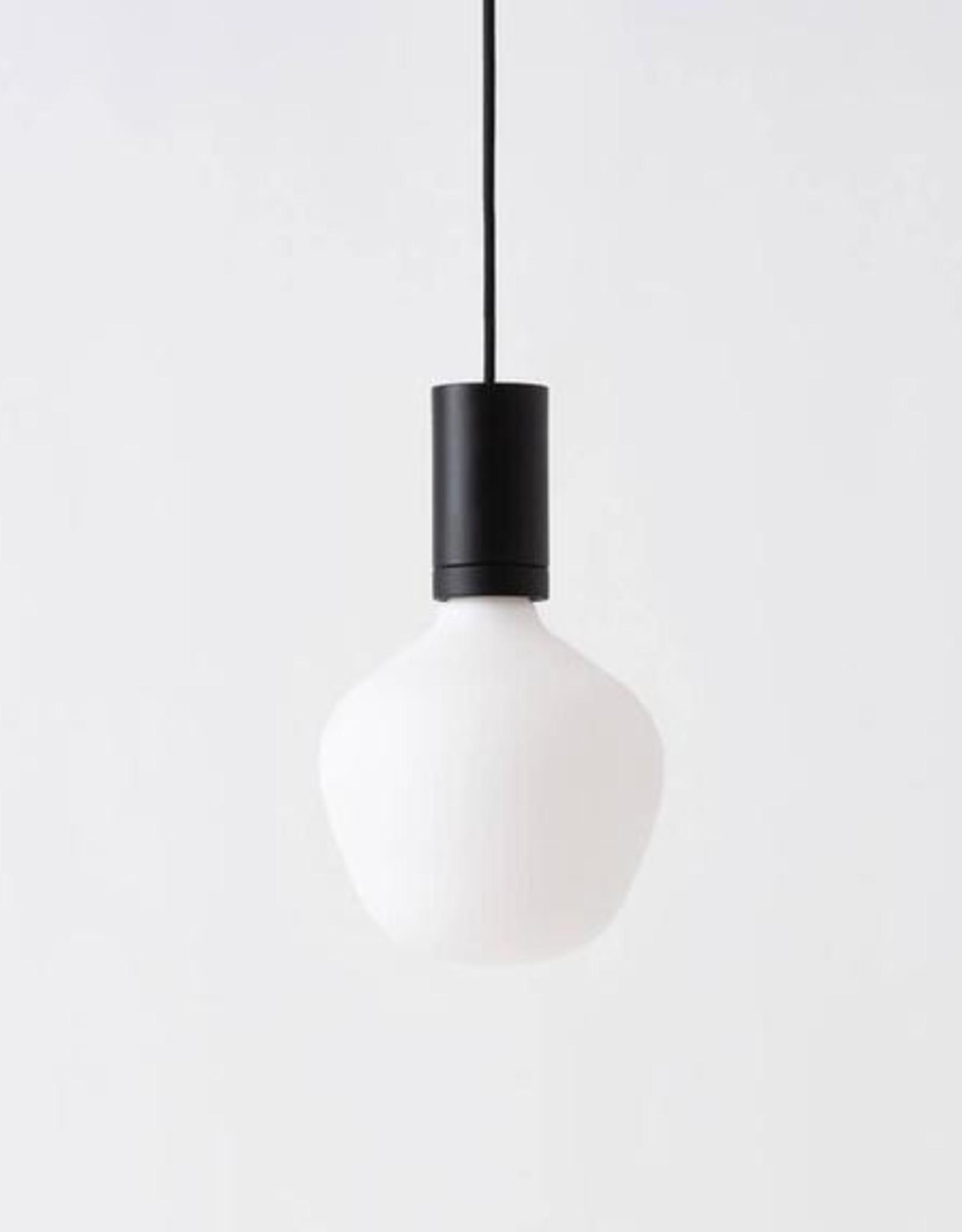 EQ3 EQ3 Custom Pendant Base-Hard Wire-Black