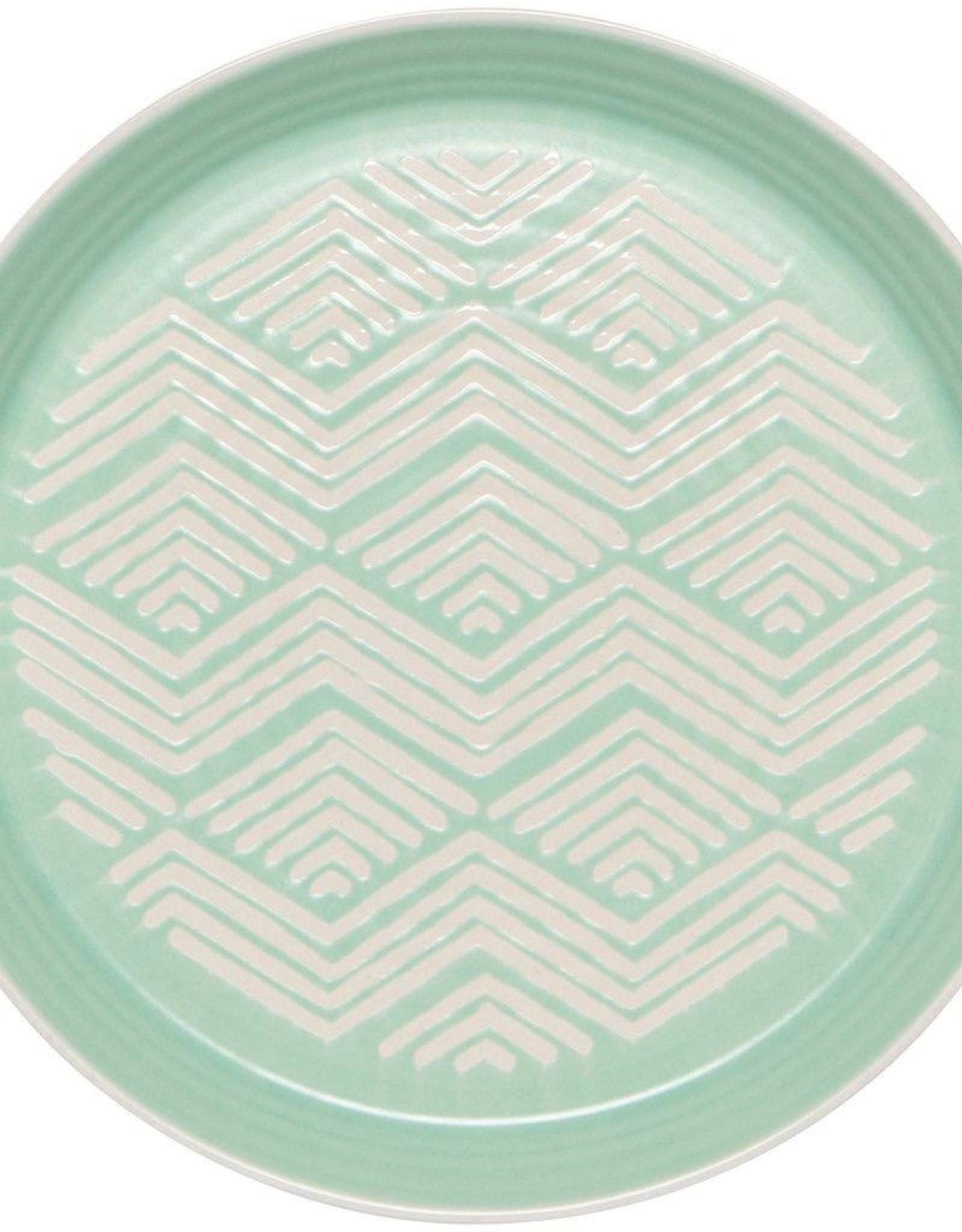Danica Danica Imprint Side Plate-Mint