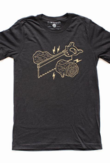 Moore Collection Moore Collection Wood Cut Tshirt