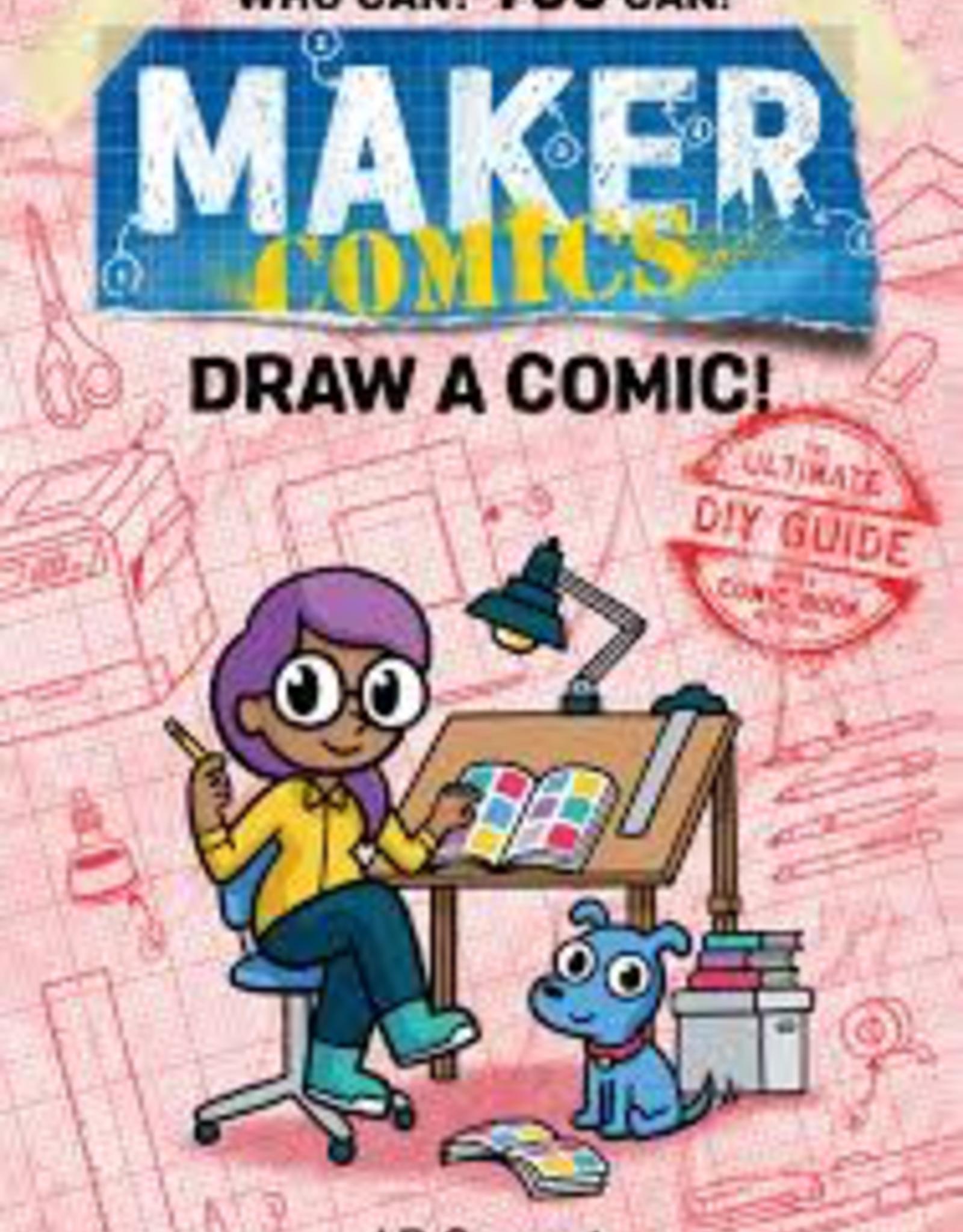 Raincoast Books Raincoast Books Maker Comics Draw A Comic
