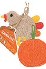 Danica Danica Tawashi Thanksgiving Dishcloth