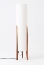 EQ3 EQ3 Tube Floor Lamp - Walnut