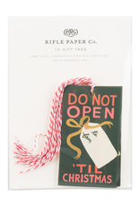 Rifle Paper Rifle Paper Do Not Open Tags