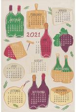 Danica Danica Wine Year Tea Towel
