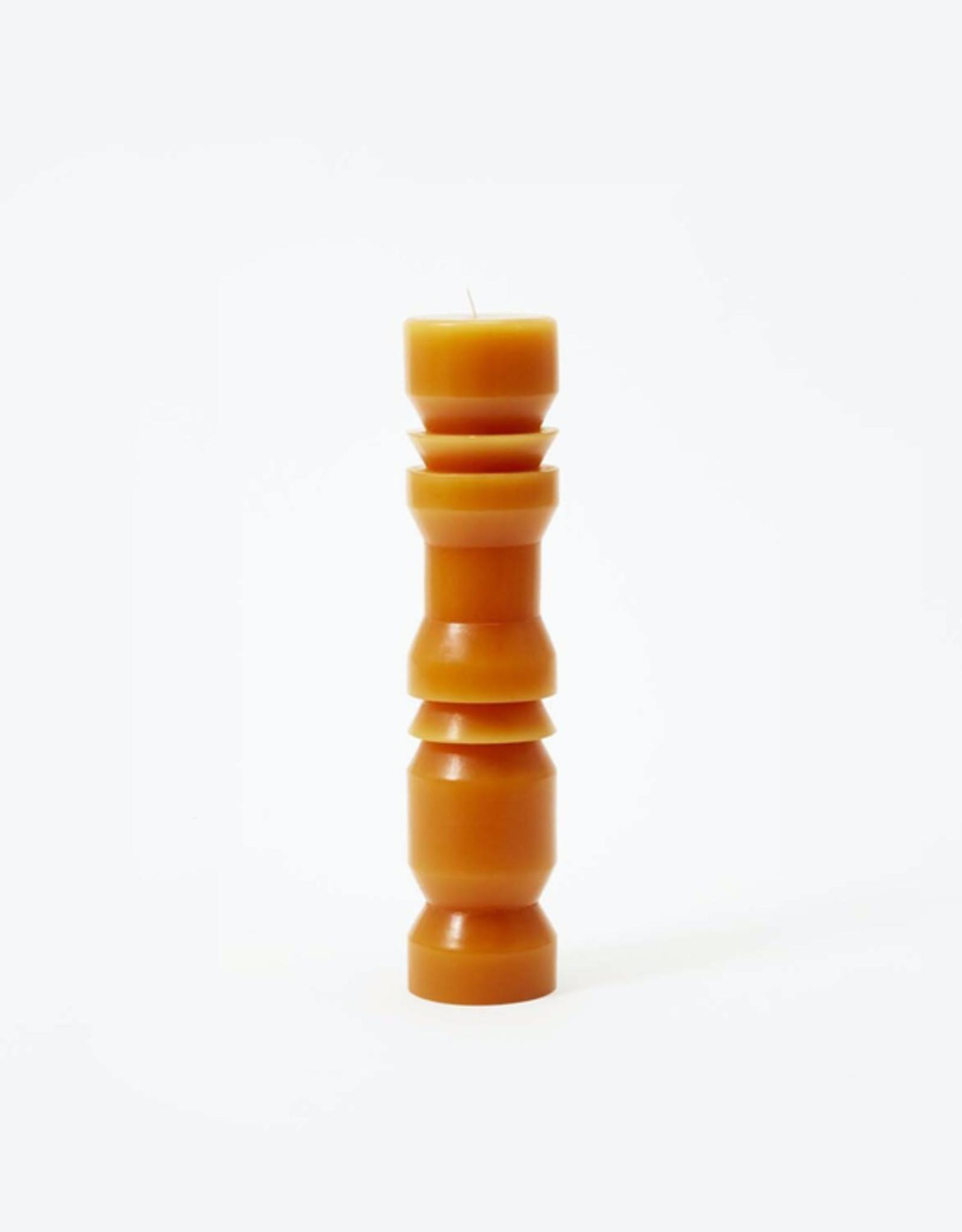 TTG TTG Sculpted Candle-Terracotta-Large