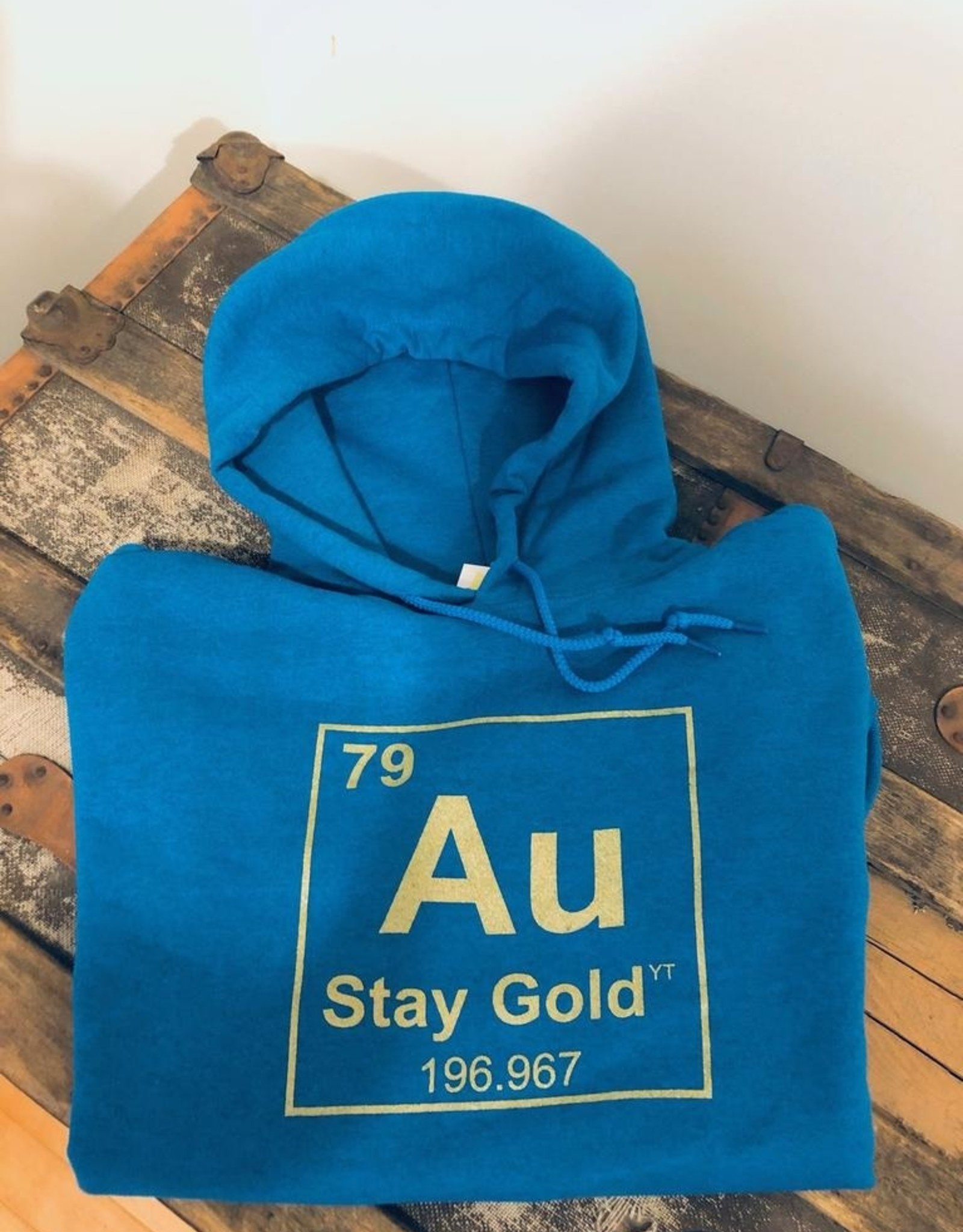 The Collective Good The Collective Good Stay Gold Hoodie-Adult