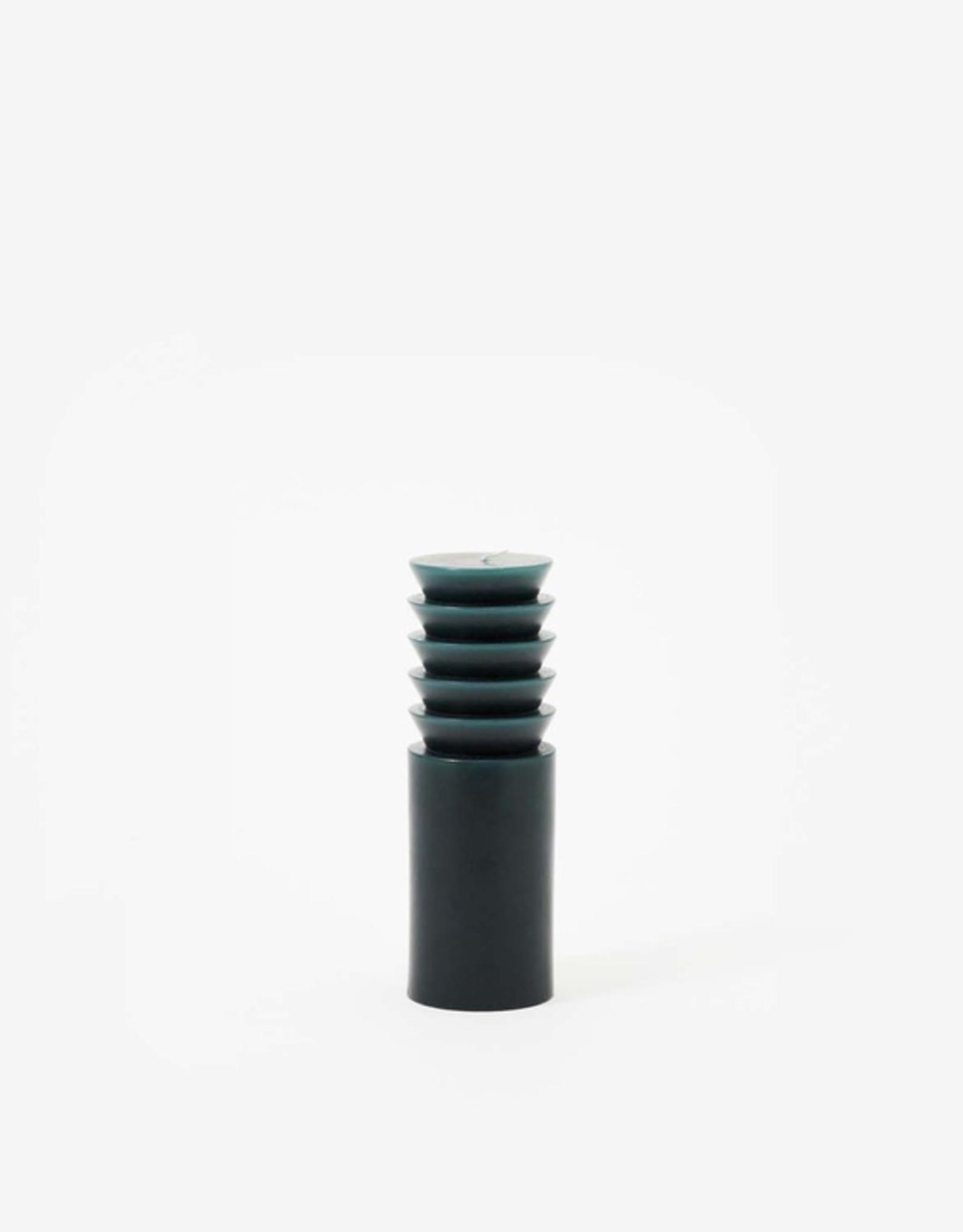 TTG TTG Sculpted Candle-Forest-Medium