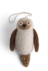 EGS EGS Mini Owl Ornament-White