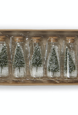 Harman Harman Festive Tree-Glass Jar-Green