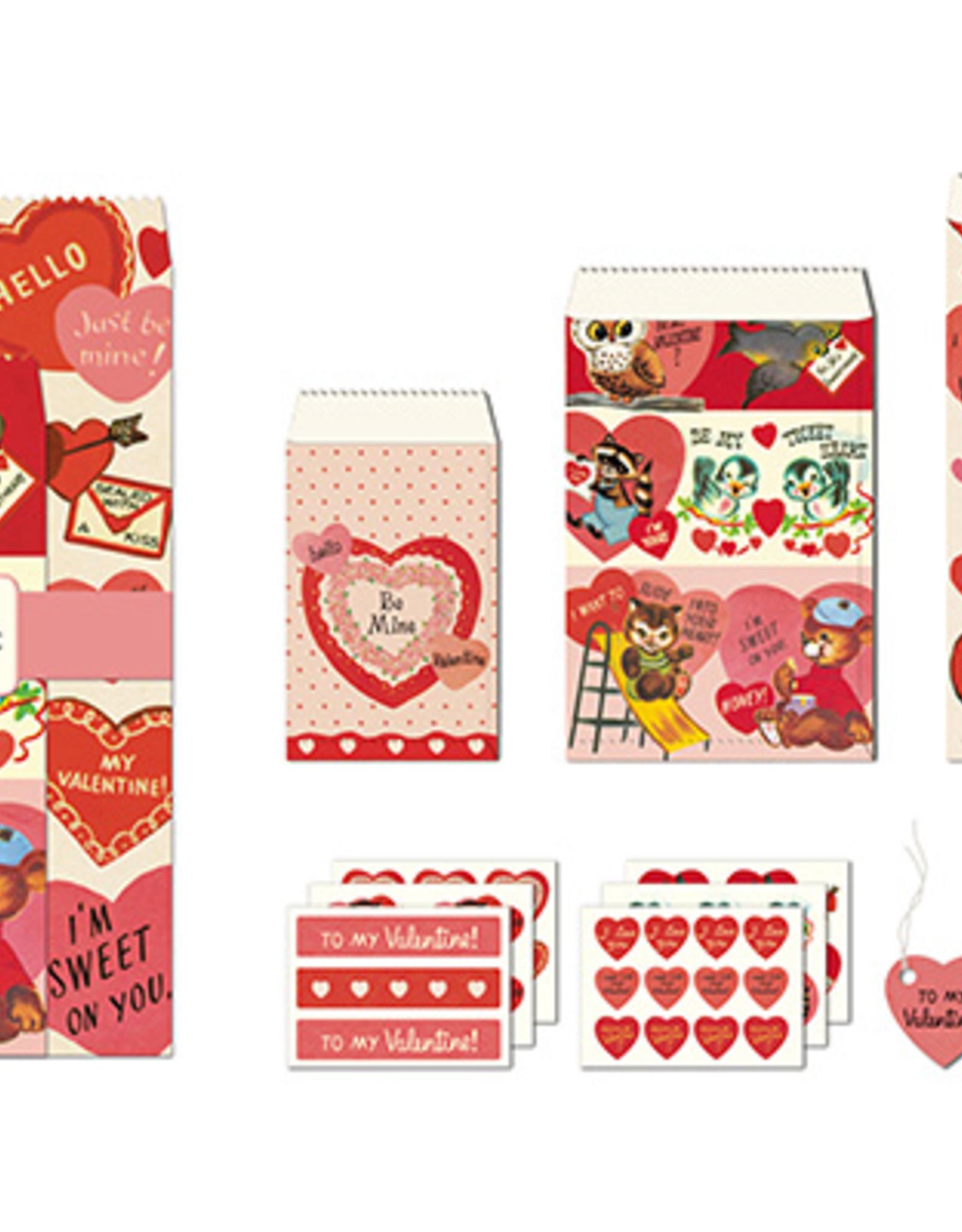 Cavallini Papers Cavallini Papers Valentine Petite Parcel Set