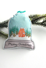 Creationz By Catherine Creationz By Catherine Merry Christmas Snowglobe Ornament-Single