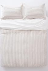 EQ3 EQ3 Acadia Duvet Set-Queen-Cream