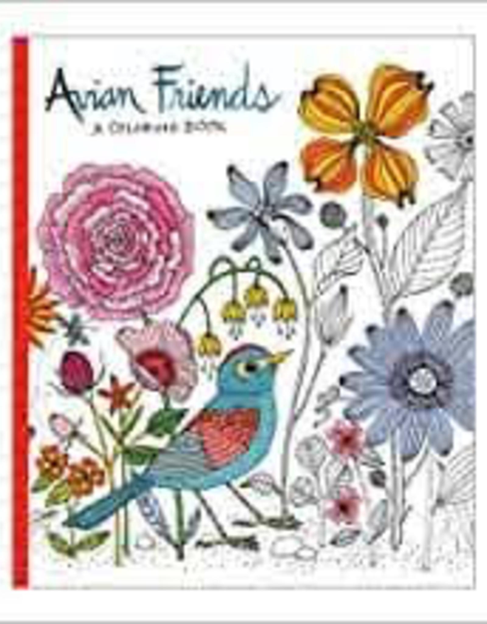 Raincoast Books Raincoast Books Avian Friends Colouring Book