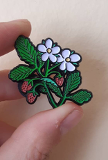The Foragers Club The Foragers Club Wild Strawberry Pin