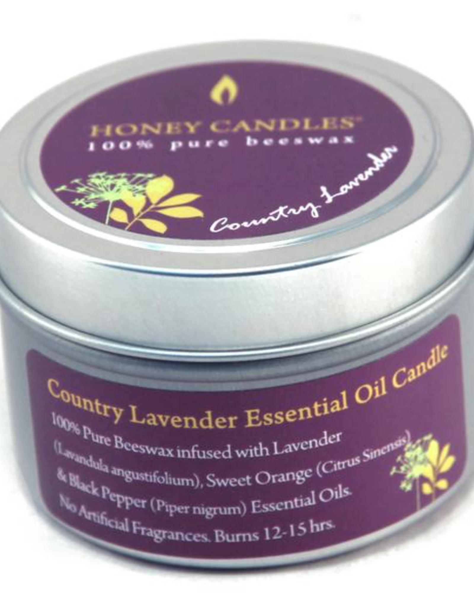 Honey Candles Honey Candles Essentials Tin Lavender