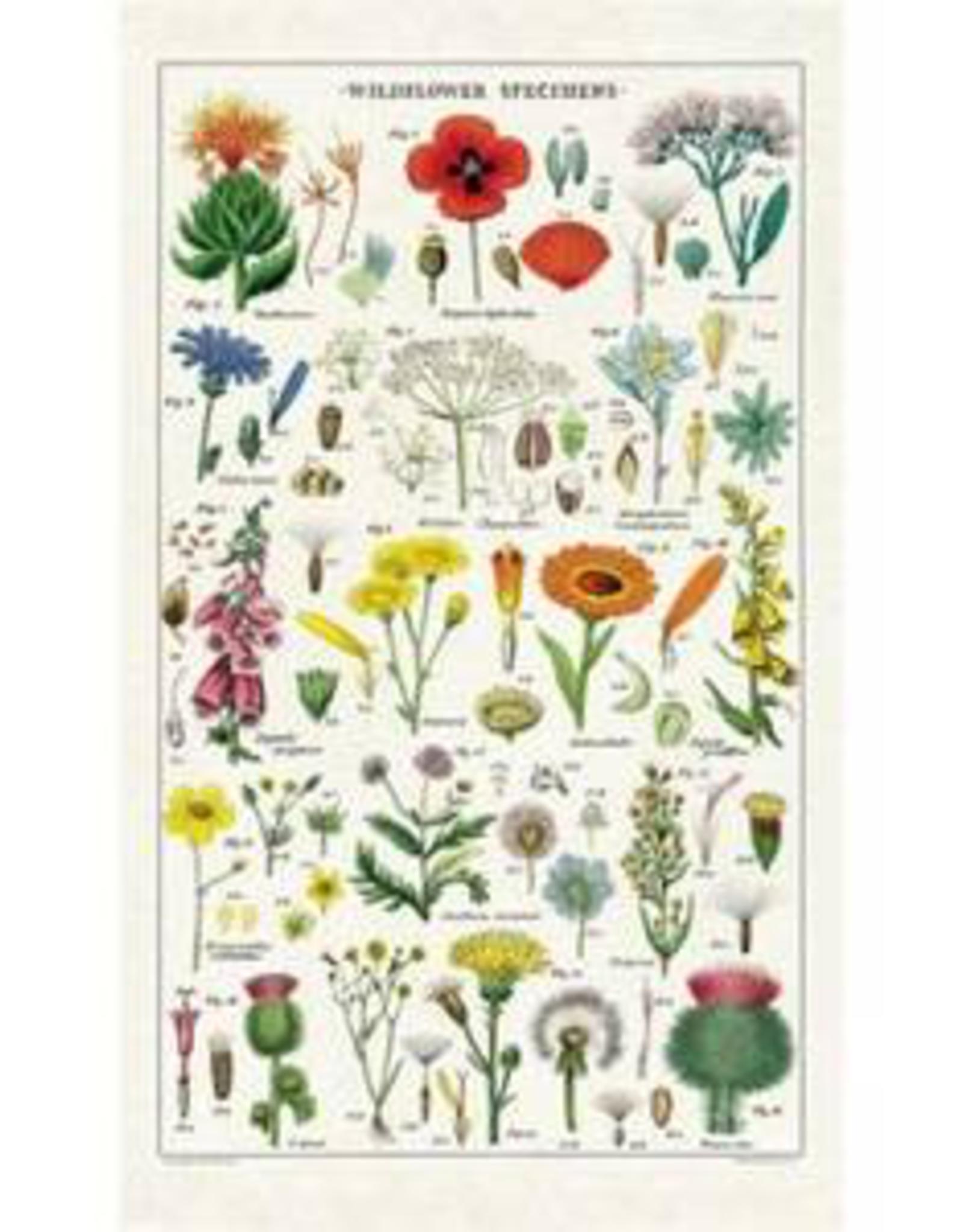 Cavallini Papers Cavallini Papers Wildflowers Tea Towel