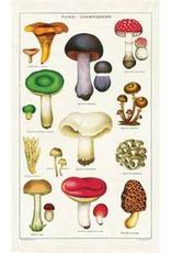 Cavallini Papers Cavallini Papers Mushrooms Tea Towel