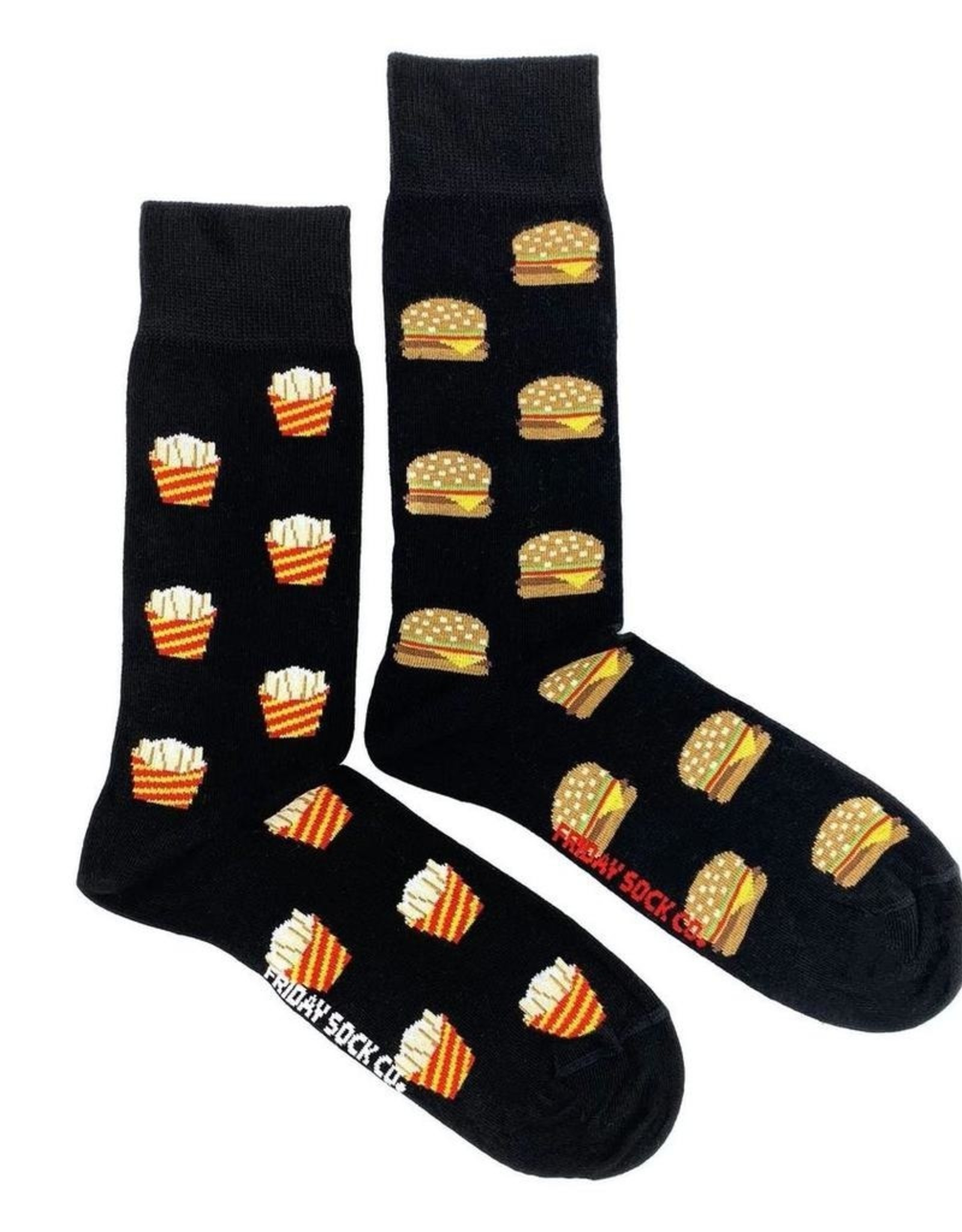 Friday Sock Co Fries And Burger Socks