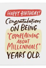 Paper E Clips Paper E Clips Complaining About Millennials Card-2627