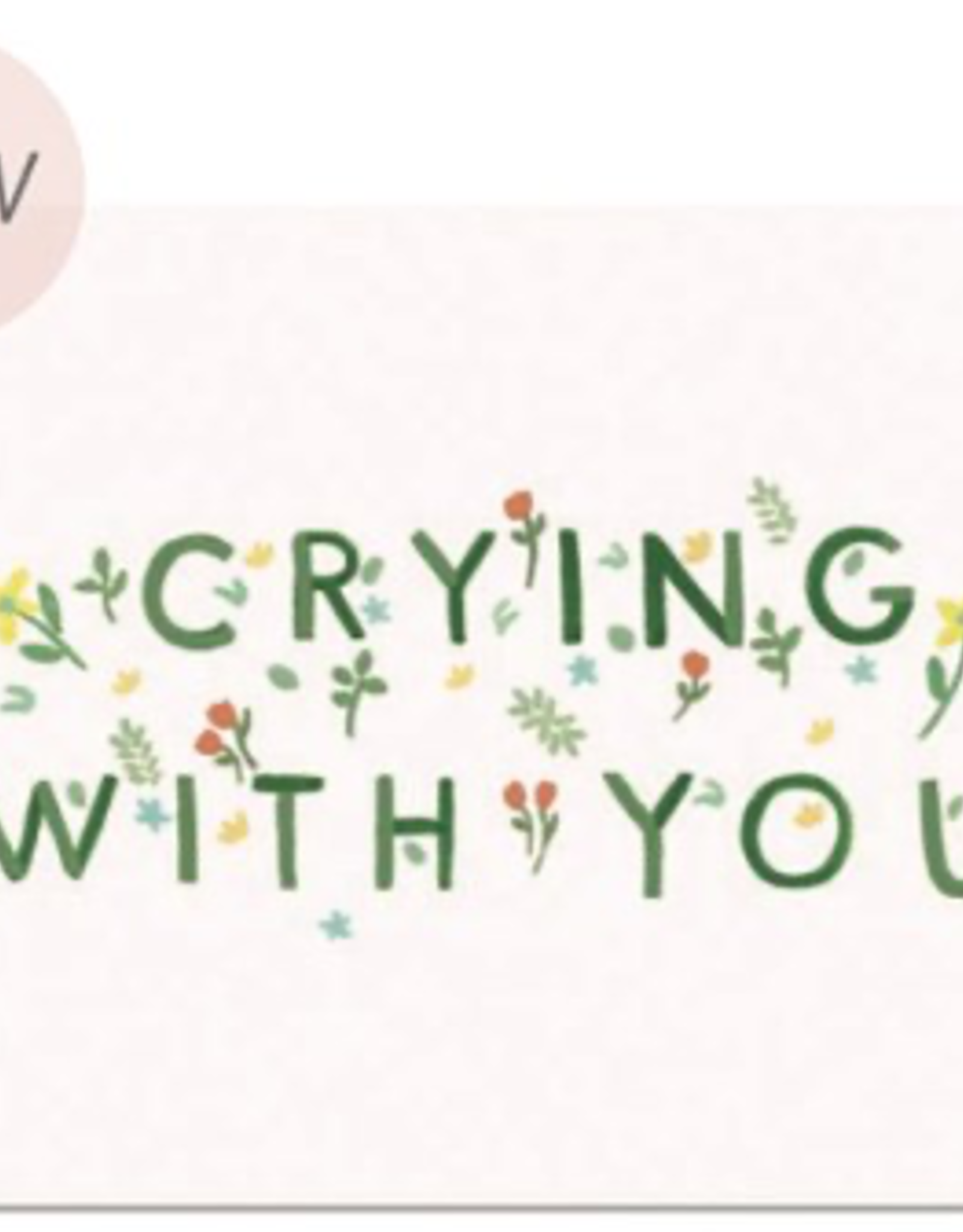 Paper E Clips Paper E Clips Crying With You Card-GC514