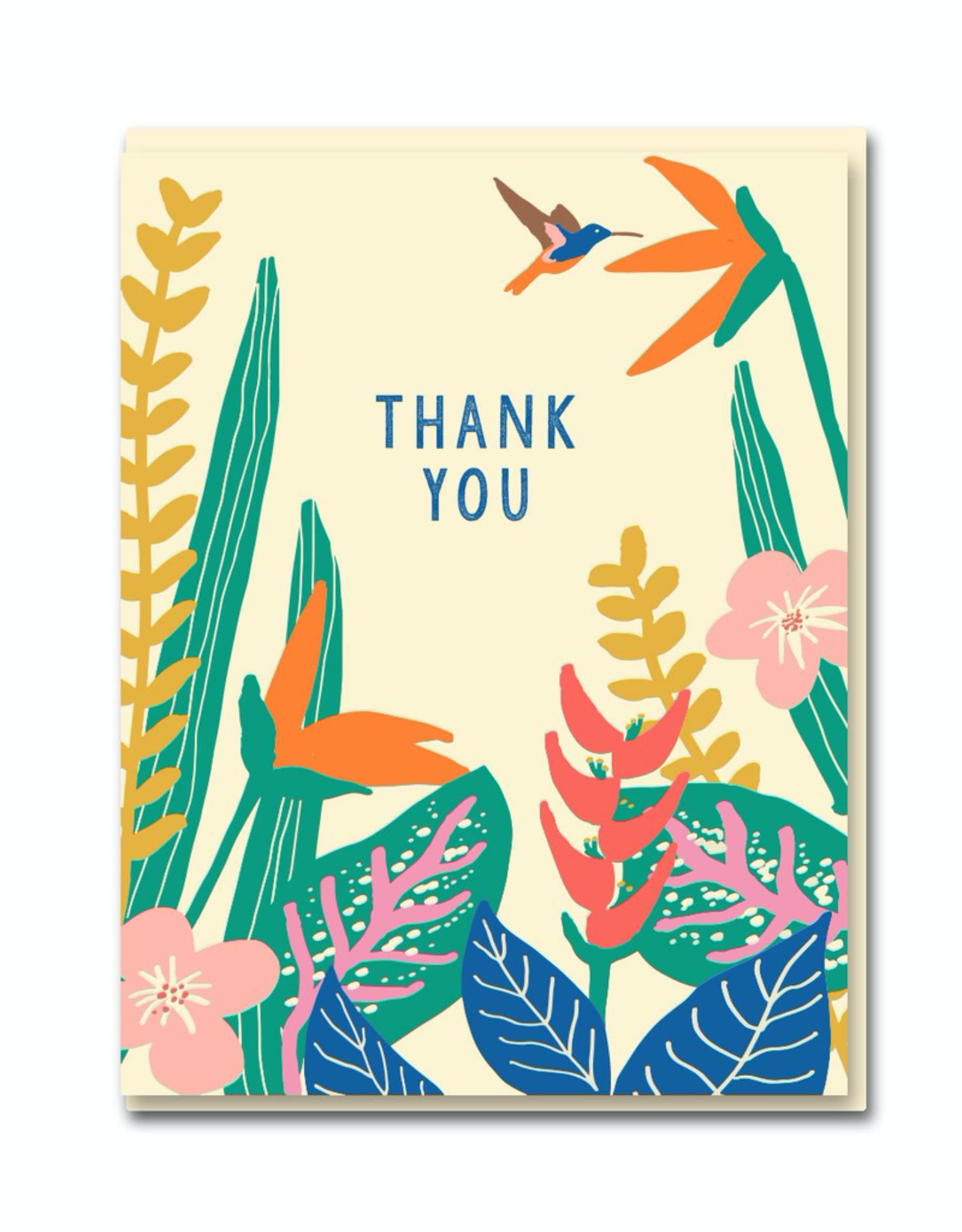 Paper E Clips Paper E Clips Tropical Plants Card-0559