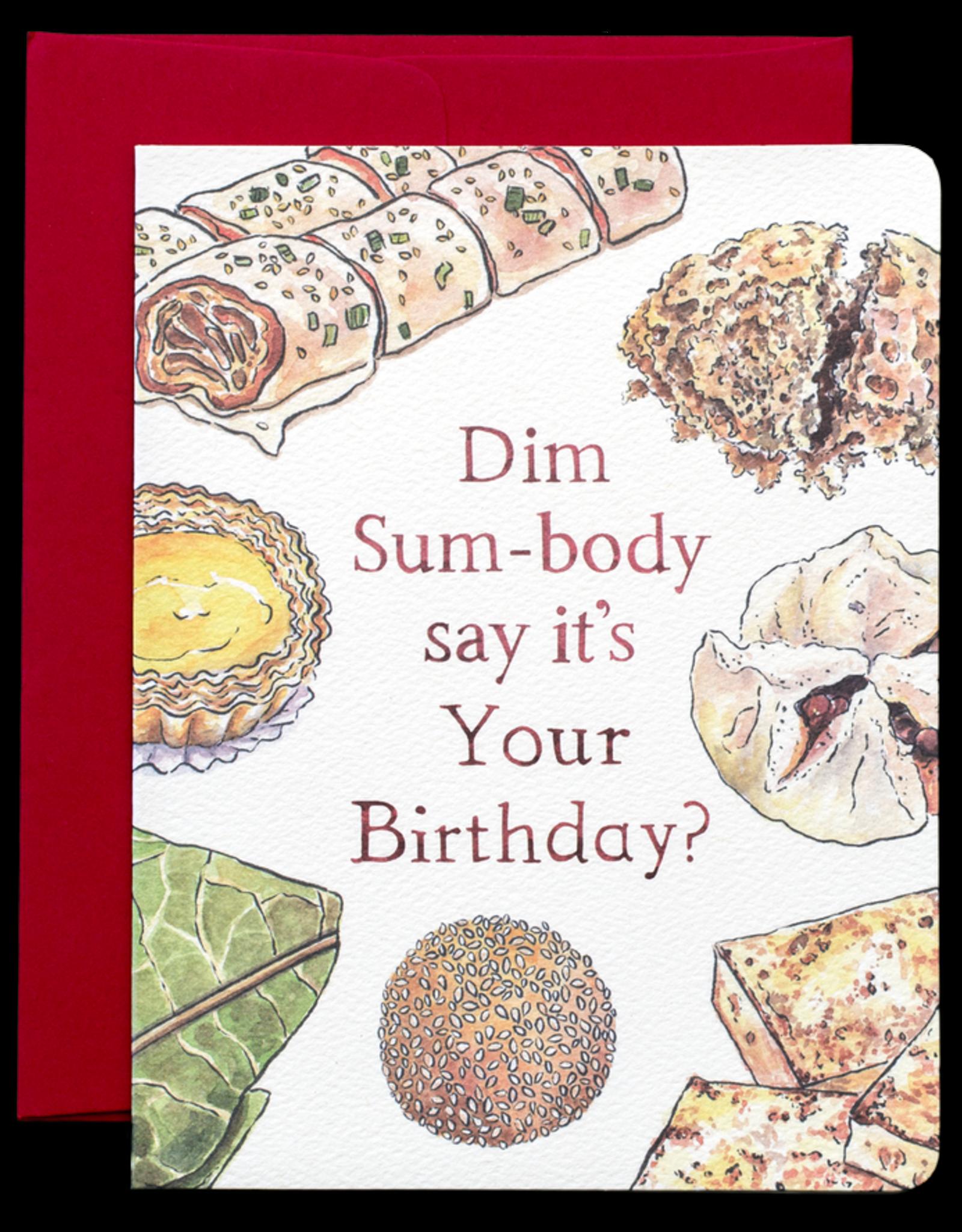 Gotamago Gotamago Dim Sum Birthday Card