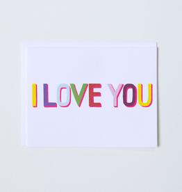 Banquet Workshop I Love You Card