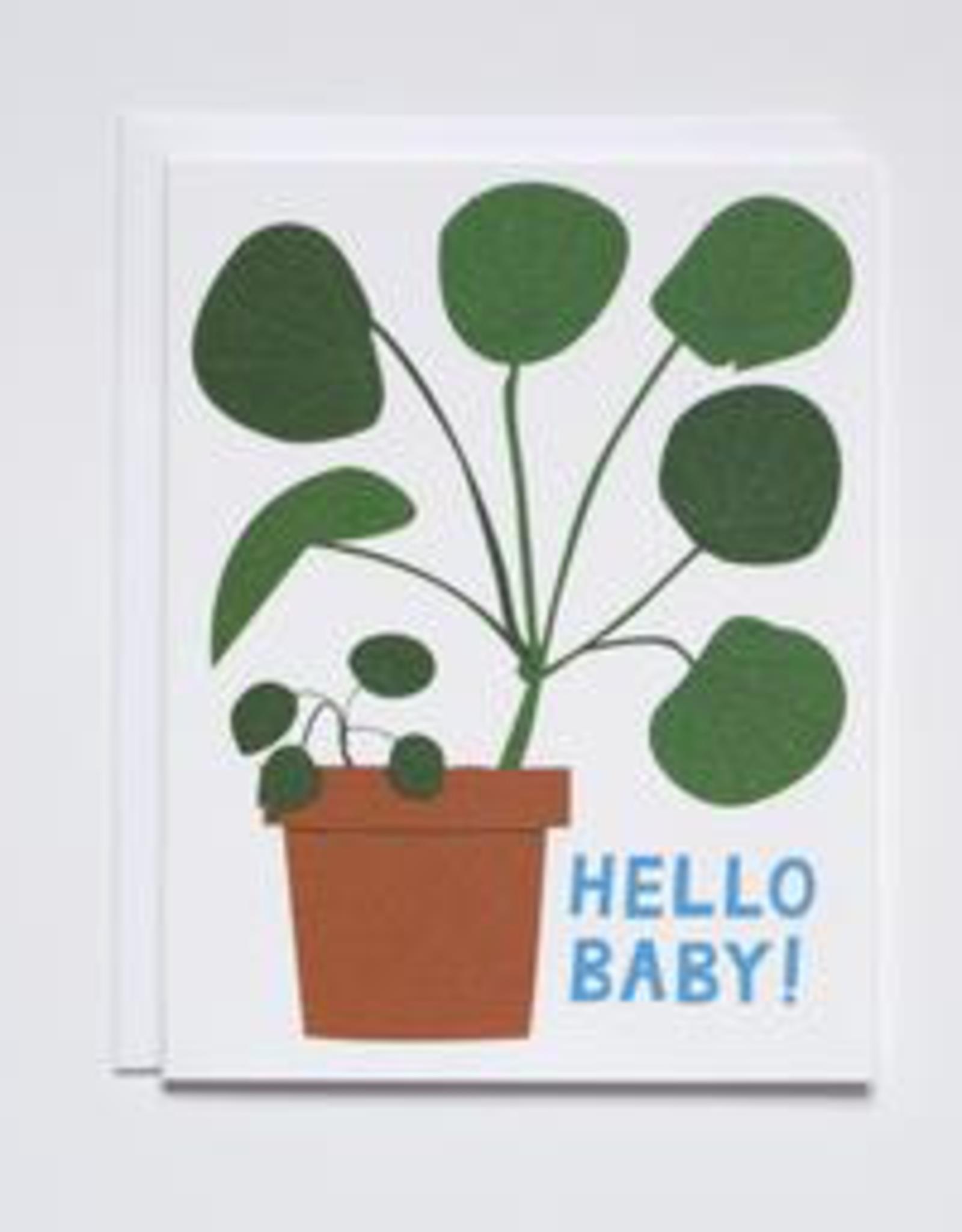 Banquet Workshop Banquet Workshop Hello Baby Houseplant Card