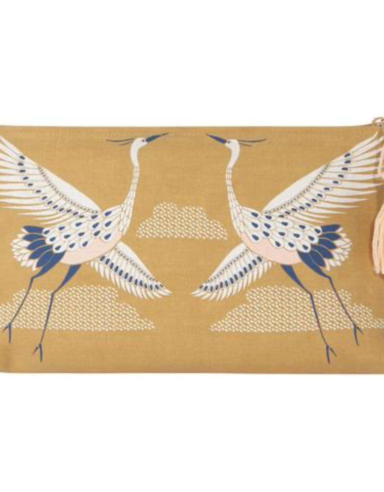 Danica Danica Flight Fancy Linen Cosmetic Bag-Large