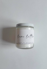 Land Of Daughters Land Of Daughters Love Letter Candle