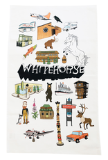 The Collective Good The Collective Good Whitehorse Tea Towel