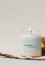 Homecoming Candles Homecoming Candles-Peppermint And Eucalyptus Candle